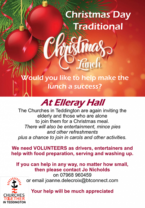 Volunteer on Christmas Day